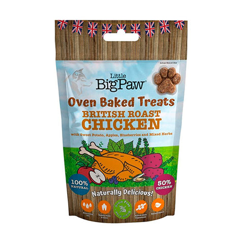 little big paw chicken pollo snack
