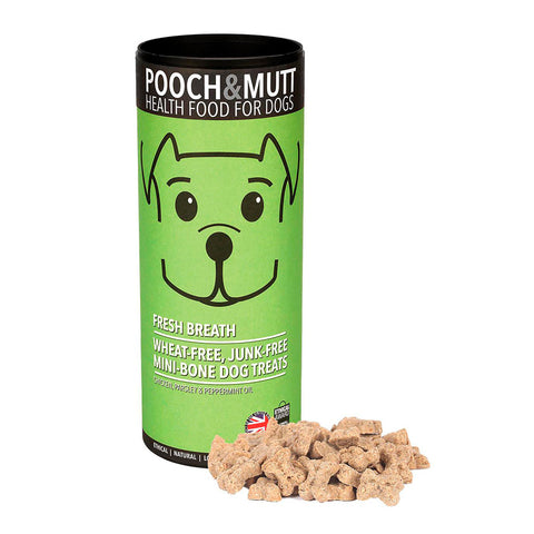 pooch mutt Fresh Breath (aliento fresco)