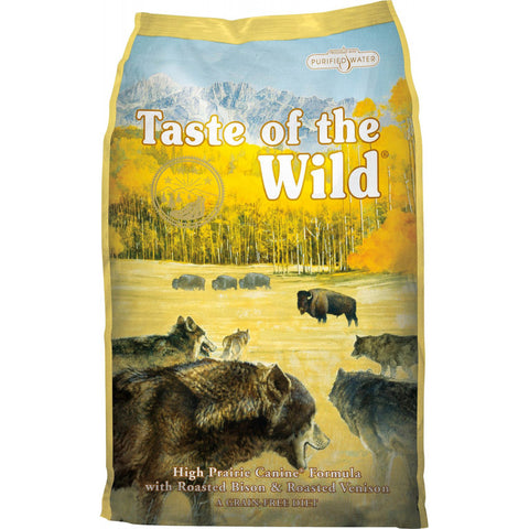 Taste of the wild High Prairie perro