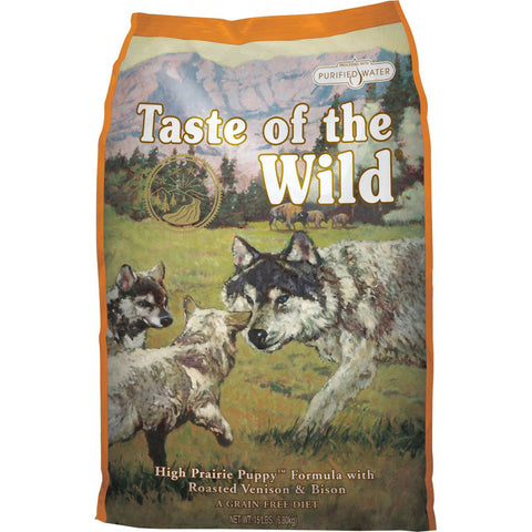 Taste of the wild High Prairie Puppy cachorro