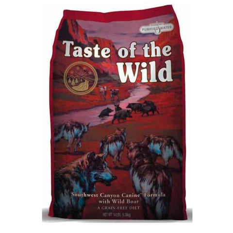 Taste of the Wild Southwest Canyon perro