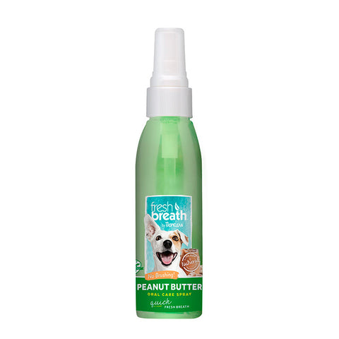 tropiclean oral care spray perro aliento