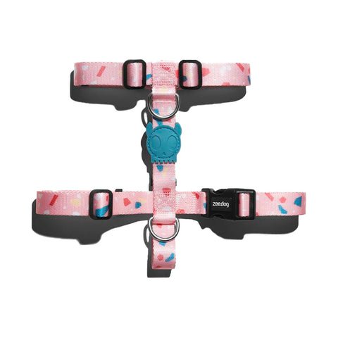 Zee.Dog Terrazo Rosa Harness