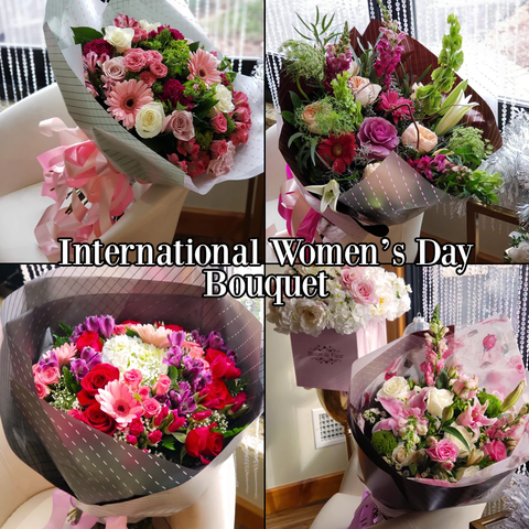 Bloom de Fleur Bouquet International Women's Day Bouquet