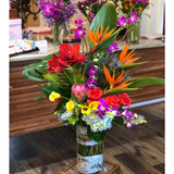 Bloom de Fleur Bouquet Vase - Tropical