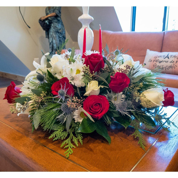 Bloom de Fleur Centerpiece Holiday Centerpiece