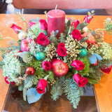 Bloom de Fleur Centerpiece Holiday Centerpiece (Large)
