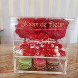 Infinity N°.5 with Drawer - Forever Roses - Red - Bloom de Fleur
