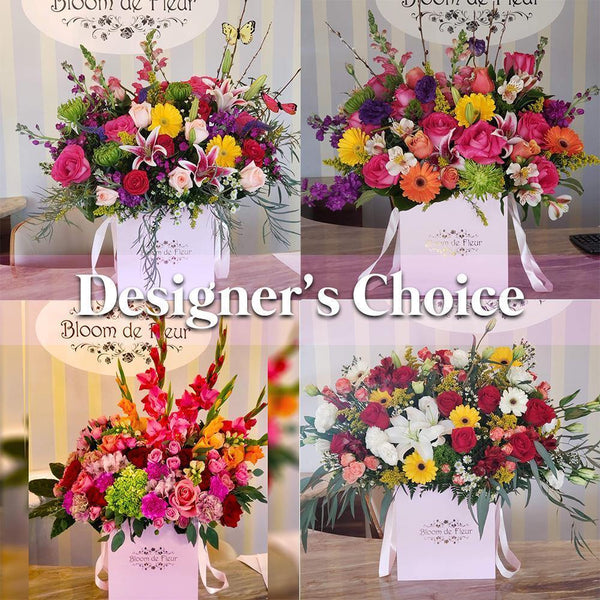 Bloom de Fleur Luxury Pink Luxury Pink - Designers Choice 110$