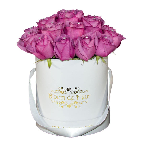 Bloom de Fleur Luxury White Luxury White - Lavender Dream