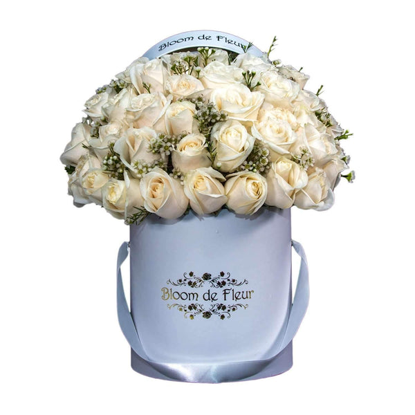 Bloom de Fleur Luxury White Luxury White - White Roses