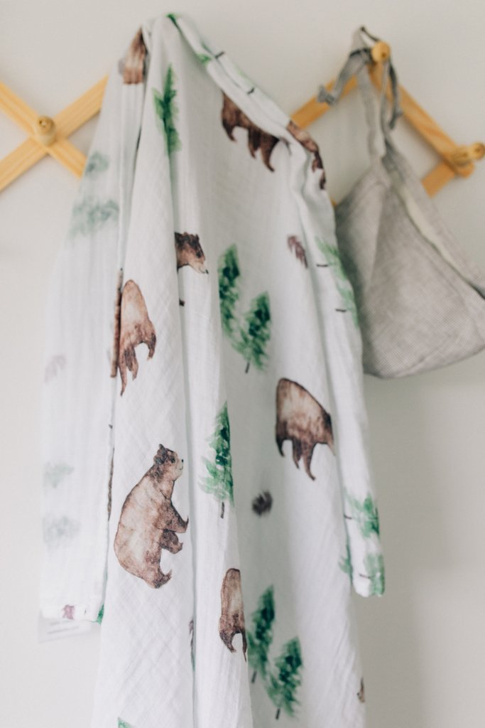 Mebie Baby Forest Swaddle