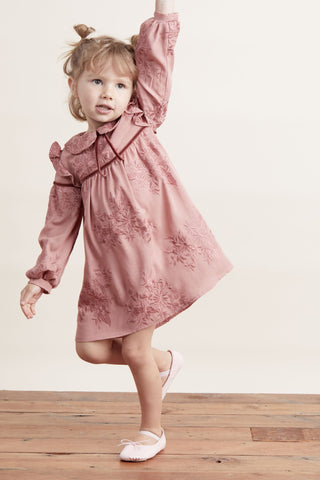 Lil' Lemons Mable May Dress in Mauvelous