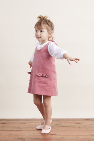Lil' Lemons Madeline Jumper in Rose