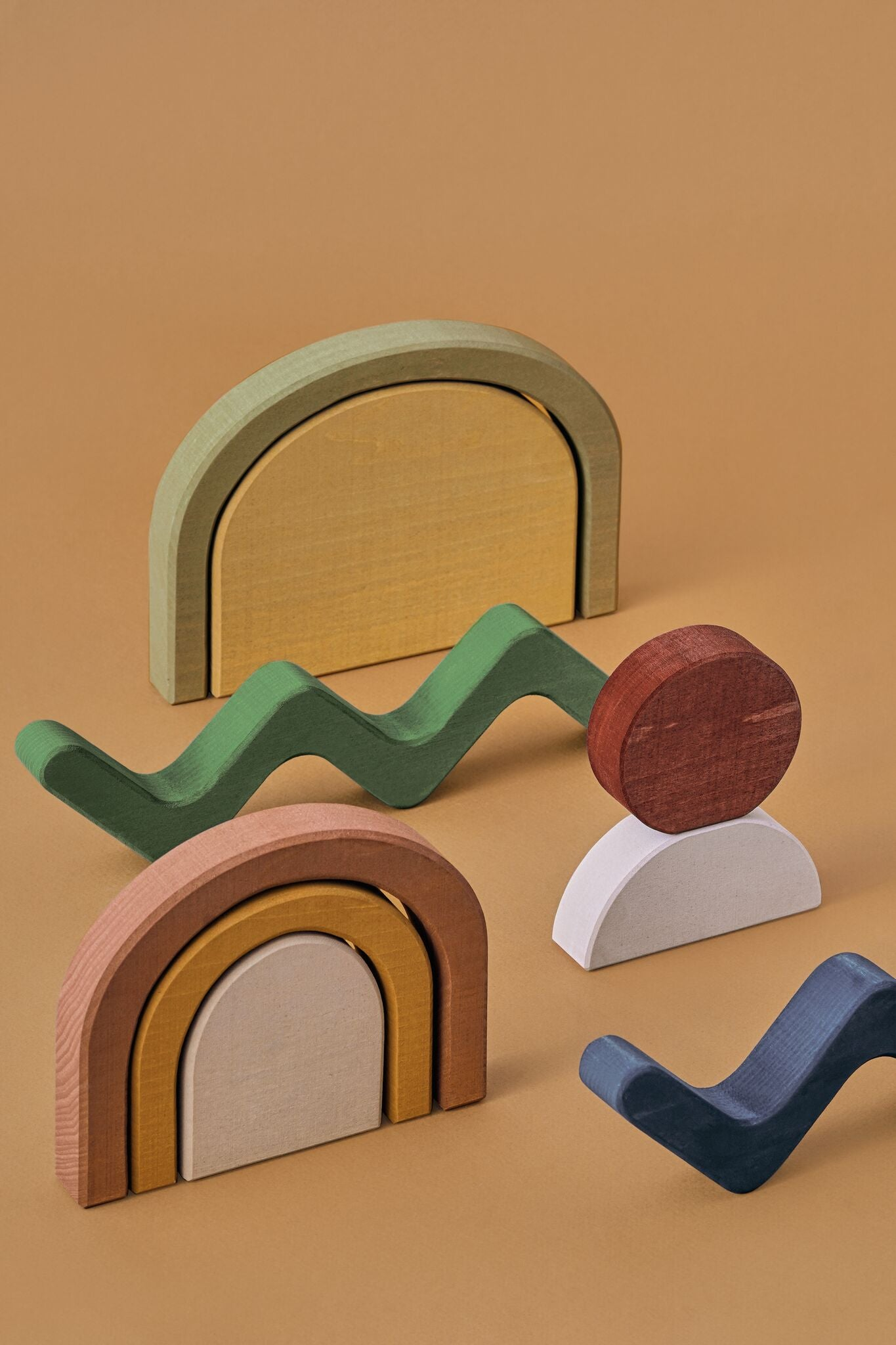 Raduga Grez Building Blocks, Shapes