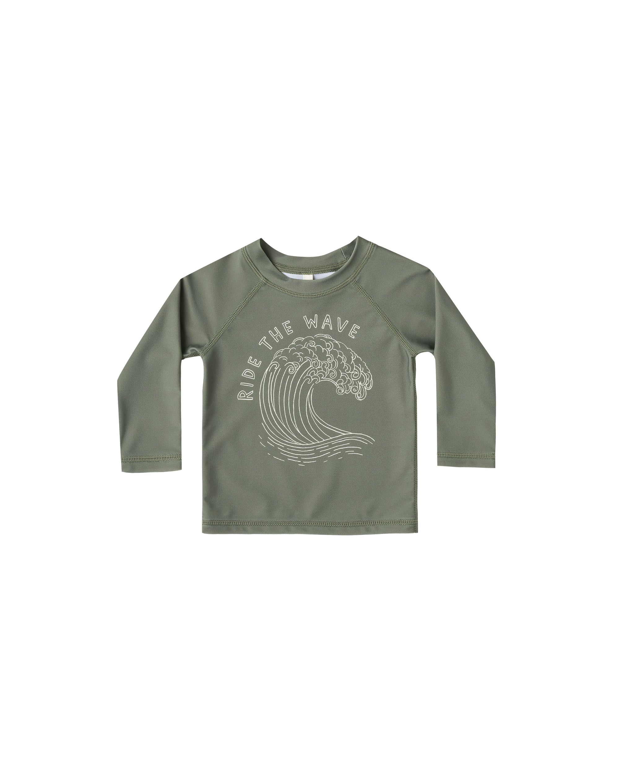 Rylee + Cru Ride the Wave Rashgaurd, Fern