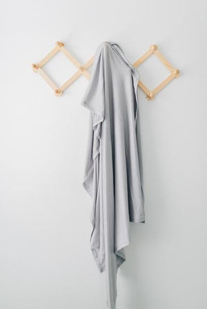 Mebie Baby Stretch Swaddle Set, Stone + Sage + Charcoal