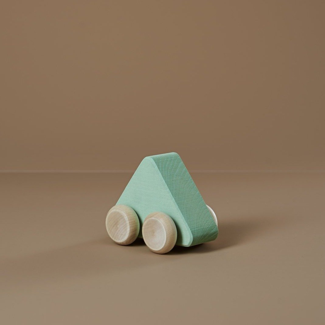 Raduga Grez Wooden Toy Car, Seafoam