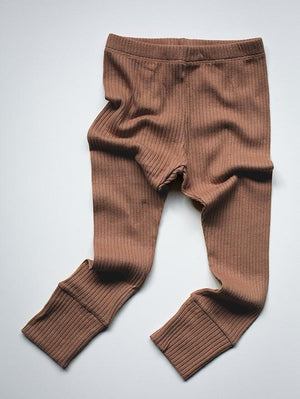 The Simple Folk Ribbed Legging, Cinnamon