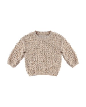Rylee + Cru Slouchy Pullover Sweater, Oat