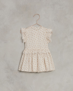 Noralee Gold Fleur Alice Dress, Shell