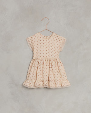 Noralee Tulip Betty Dress, Light-Peach