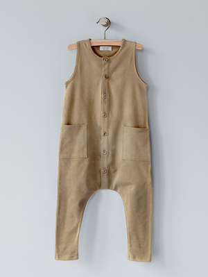 The Simple Folk Free-Range Playsuit, Camel