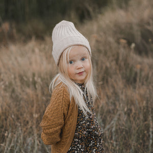 Rylee + Cru Sweater Knit Beanie, Oat