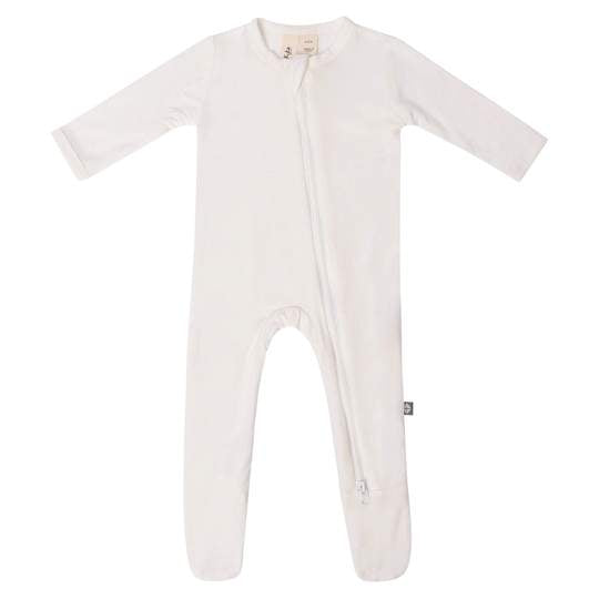 Kyte Baby Zippered Footie, Cloud