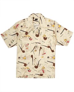 pin-up camp shirt