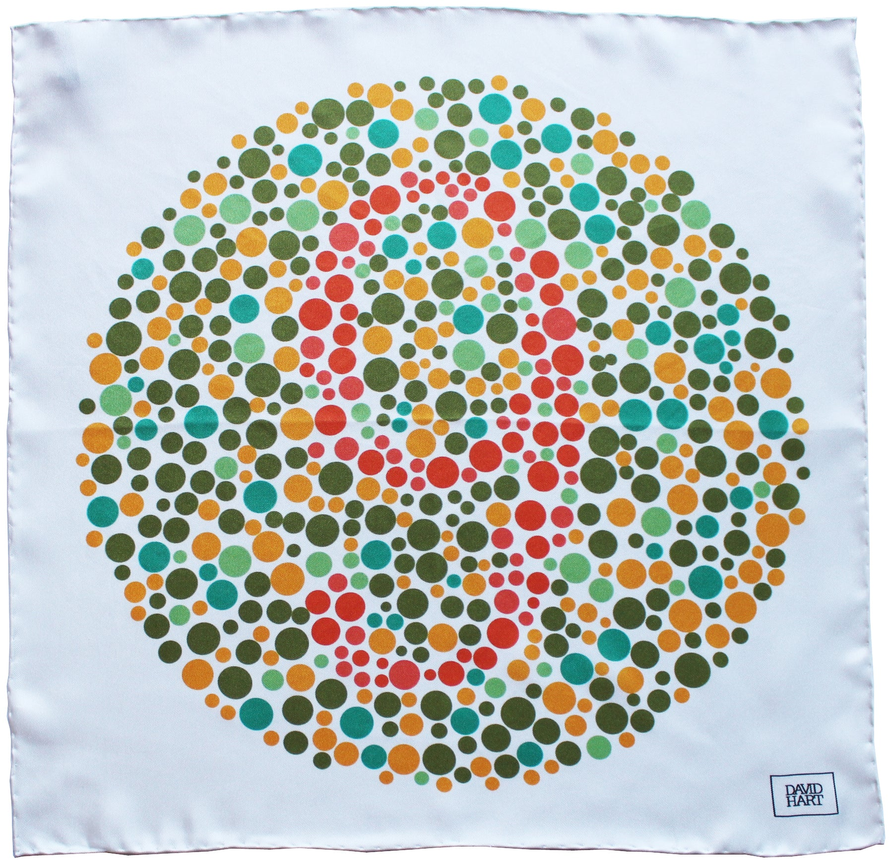 ishihara test pocket square