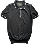 black tipped polo
