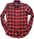 buffalo check button down