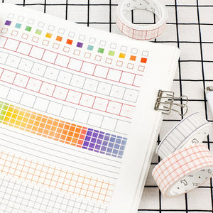 Tracker Washi Tape - Check Boxes