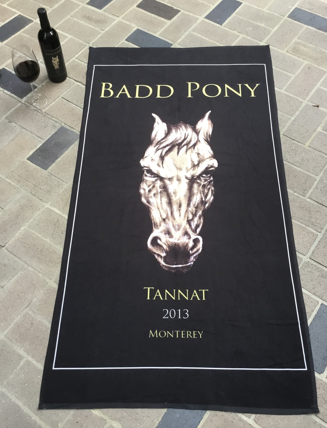 Badd Pony Pool And Beach Towel