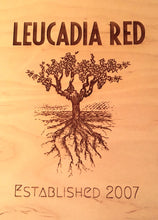 Leucadia Red Wood Wine Case