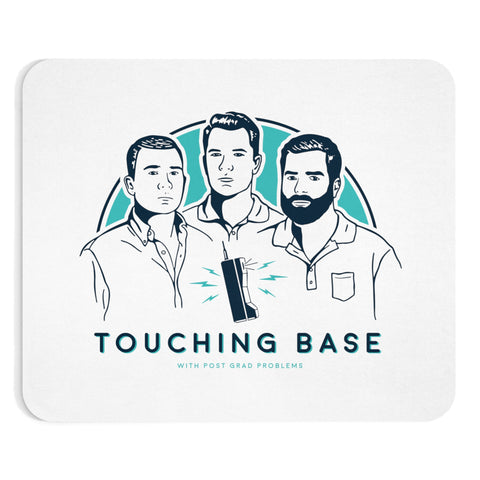 Touching Base Logo Mousepad