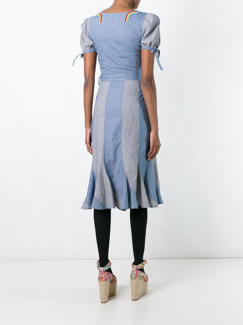 Dr. Amnesia Chambray Dress