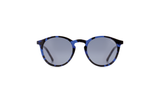 Aston Tortoise Blue Sunglasses