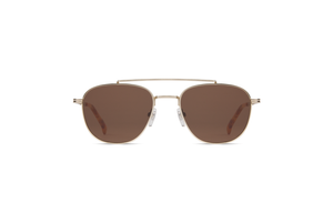 Alex White Gold Sunglasses