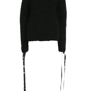 Jumper with Extra Long Sleeves