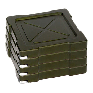 MK-1 Coaster Set - Olive Drab Green