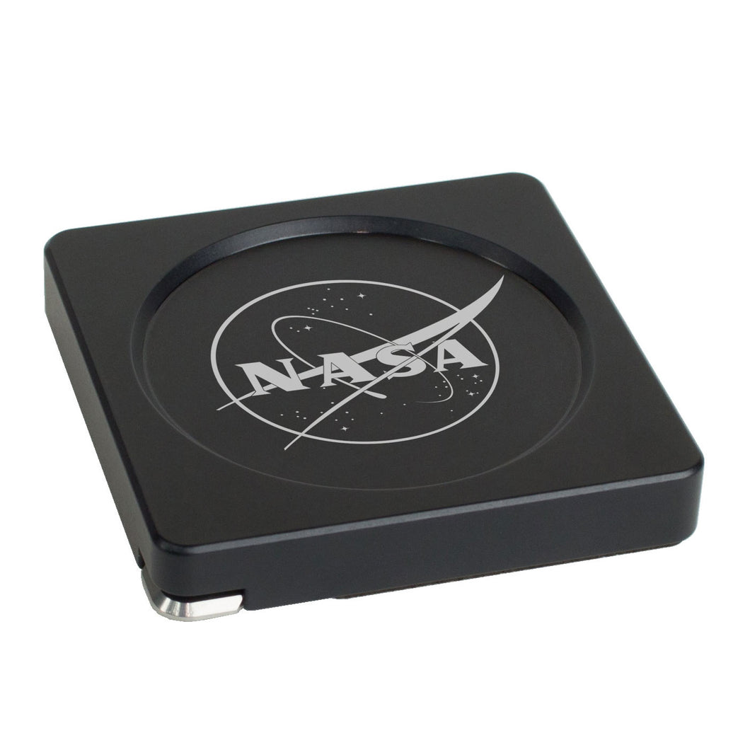Modern Coaster - Black - NASA