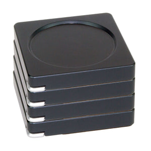 Modern Coaster Set - Black