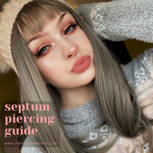 Septum Piercing Guide: Everything You Need to Know Before Getting Pierced!