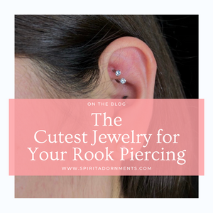 The Cutest Jewelry For Your Rook Piercing