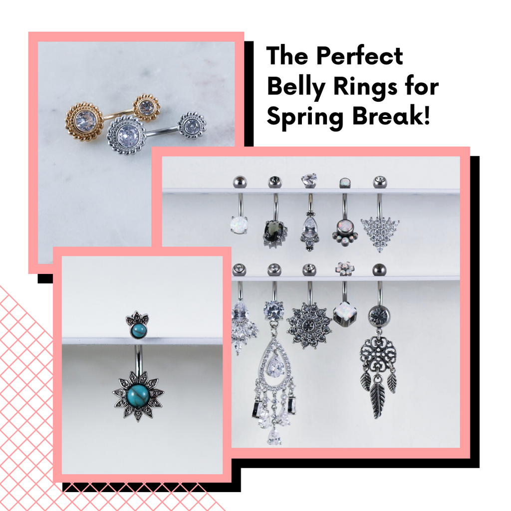 The Perfect Belly Rings for Spring Break!