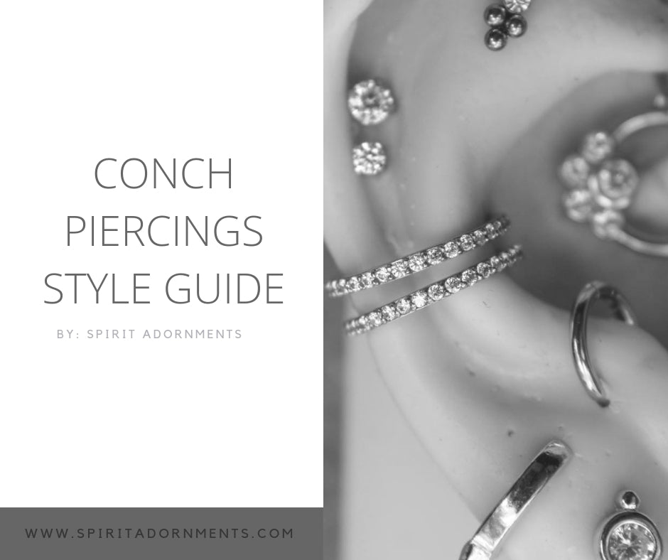 Conch Piercings Style Guide