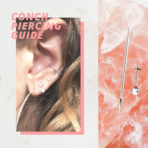 Conch Piercing Guide
