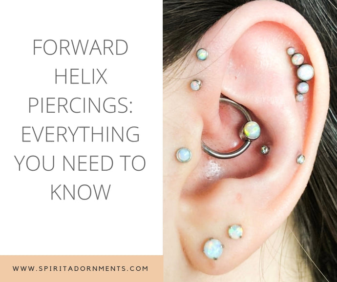 Forward Helix Piercings: Everything You Need to Know